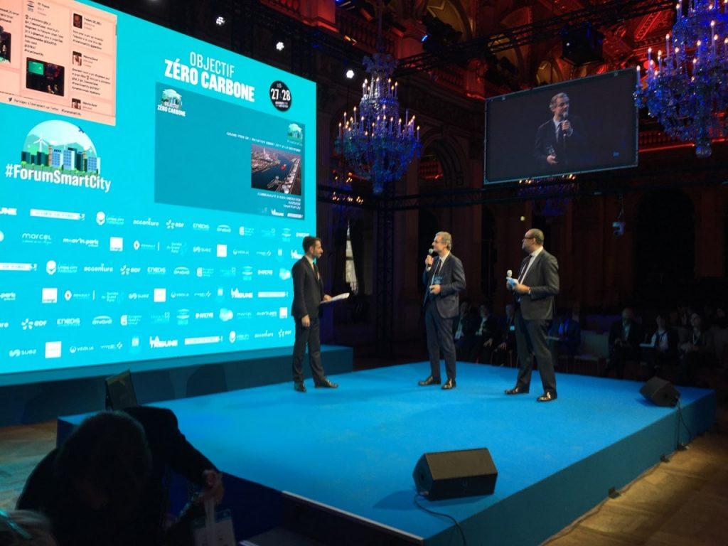 Conférence Forum Smart Cities, Salon La Tribune, Paris, France 1
