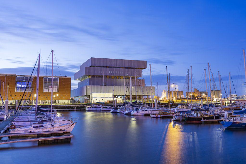 Le futur siège de l'EM Normandie et de la Cité Numérique livré en février 2020 1