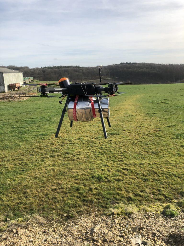 16 décembre - Lancement du Centre d'Innovation Drones Normandie 1